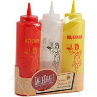 3 Piece Diner Squeeze Bottles Set including mustard, ketchup and mayonnaise with retro waitress 50th Party, 60th Birthday Party, Retro Birthday, Baseball Birthday, July Birthday, Birthday Ideas, Fifties Party, Retro Party, 50s Theme Parties