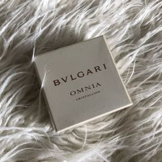 Bvlgari (NWT) Omnia Crystalline Perfume Solid BVLGARI (NWT) Omnia Crystalline Perfume Solid Brand NEW, in original packaging, never opened Size: 0.03oz Omnia Crystalline Solid Perfume 0.03 oz by Bvlgari for WomenOmnia Crystalline is an elegant sophisticated fragrance that is inspired by the perfection and complexity of a crystal. The fragrance that is a product of an Italy-Spain collaboration in Bvlgari and Alberto Morillas is a perfect companion for your day. Open to offers! Additional…