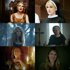 Lily Rabe - American Horror Story 1. Nora Montgomery 2. Sister Mary Eunice McKee 3. Misty Day 4. Sister Mary Eunice (Freakshow) 5. Aileen Wuornos 6. Shelby Miller (Interview)