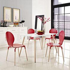 Bundle Wood Dining Table , EMFURN - 1
