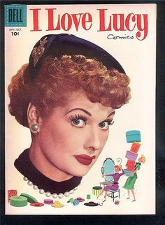"""1956 """"I Love Lucy"""" Comic Book by Lucy_Fan, via Flickr"""