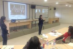 Presentación de las Mtras. Georgina Balderas y Paola Huerta Chamorro: Experiencias de construcción del PAT, Curso-Taller Interanual de Tutorías 2013 para Coordinadores del PIT-UNAM, 29 de mayo de 2013.