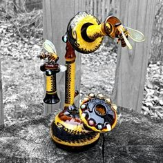 Bees and vintage phone!...Love it!