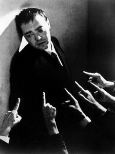 A strange affinity with Peter Lorre in almost every photo taken. A uniquely beautiful man who became beautifully ugly.