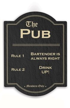 CATHY'S CONCEPTS 'The Pub' Wall Sign available at #Nordstrom
