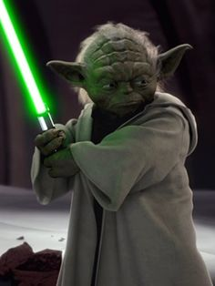"Yoda Grand Master of the Jedi Council in the movie ""Star Wars"""