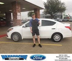 Waxahachie Ford Customer Review  JT want thank you for working with me helping me buy my first vehicle thank you for everything.  Dillon , https://deliverymaxx.com/DealerReviews.aspx?DealerCode=E749&ReviewId=56887  #Review #DeliveryMAXX #WaxahachieFord