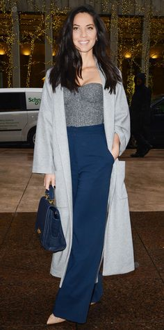 Look of the Day - December 13, 2014 - Olivia Munn from #InStyle