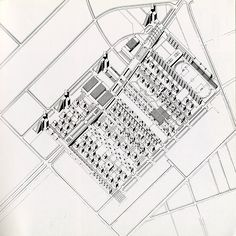 Ungers Dietzsch Koolhaas Clarck Ovaska. Lotus 11 1976: 29   RNDRD