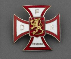 Badge, Volunteer Brigade in Finland against Russia. (Imperial War Museum), pin by Paolo Marzioli