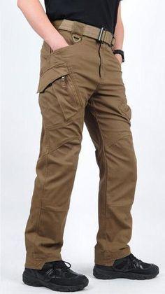 Men Tactical Combat Cargo Cotton Pants