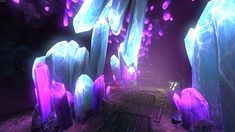 giant purple crystal - Google Search