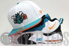 Charlotte Hornets New Era Fitted Hat & Nike Air Max Speed Turf