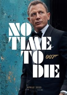 No Time to Die is a forthcoming spy film and the twenty-fifth instalment in the James Bond film series produced by Eon Productions. It features Daniel Craig in his fifth and final outing as the fictional agent James Bond. Daniel Craig, Rami Malek, Skull Island, James Norton, Casino Royale, Movies To Watch Free, Good Movies, Idris Elba, Captain Marvel