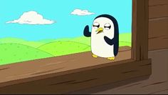 dancing adventure time gunther #gif from #giphy