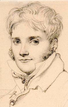 Pencil Portrait Mastery - Joseph Blondel 1809 - Jean-Auguste Dominique Ingres - Discover The Secrets Of Drawing Realistic Pencil Portraits