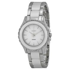 DKNY Women's Silver Analog Watch NY8818 ewatchesusa.com