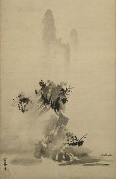 Sesshu - Haboku-Sansui - 雪舟 - Wikipedia