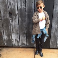 I solemnly swear that i'm up to no good. Baby Boy Outfits, Kids Outfits, Little Boy Haircuts, Kid Swag, Little Diva, Mixed Babies, Stylish Kids, Kid Styles, Child Models