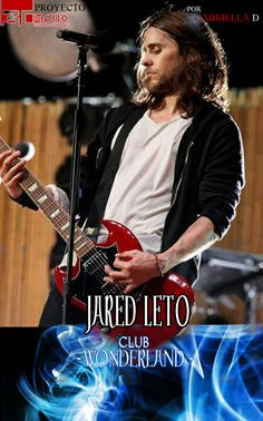 Jared Leto en Club Wonderland...Leer historia aqui: http://www.wattpad.com/story/20841820-proyecto-30-seconds-to-mars-club-wonderland