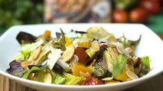 Esta salada de legumes assados é a prova de que salada não precisa ser sem graça