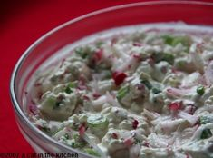 Veggie Cottage Cheese Salad!!