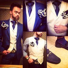 A Sebastian Cruz Couture look ~~~~ #suits #mensuits #fashion #gqstylehunt #mensstyle #style #menswear #dapper #suit #inspiration #suitup #me #pocketsquare #gucci #style #prada #patterns #sartorial #fashionblog #Sebastiancruzcouture #dapper #menstagram #instamood #instagood #gq #highfashionmen #mensfashionpost #bespoke #detail #zaramen