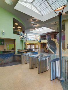 Boston Kroc Community Center in Boston, MA by The Architectural Team - ArchShowcase Boston Architecture, Architecture Design, Boston Massachusetts, In Boston, Cool Designs, Community, Home, Architecture Layout, Ad Home