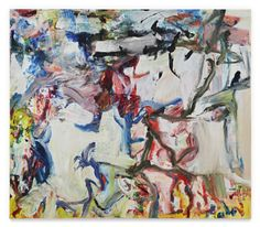 Sotheby's New York will auction a Willem de Kooning painting from Robert Mnuchin and a Holocaust survivor's Claude Monet canvas this fall. Willem De Kooning, De Kooning Paintings, Oil Paintings, Kazuo Shiraga, Most Expensive Painting, Modern Art, Contemporary Art, Lee Krasner, Barnett Newman