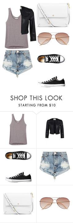 """Untitled #313"" by shakespeares-rose ❤ liked on Polyvore featuring Rebecca Minkoff, Converse, One Teaspoon, Tory Burch and H&M"