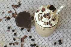 rich and creamy blended coffee recipe | Girl. Inspired.