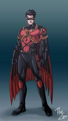 Tim Drake as Red Robin for the new 52...he's mine.