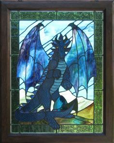 phoenix stained glass pattern - Google Search
