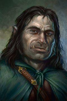 Forad Agrovak, Half-Orc inkeeper