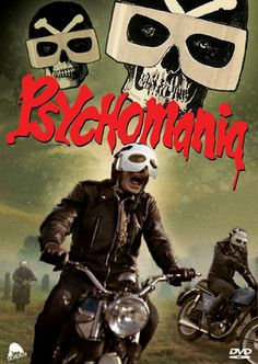 PSYCHOMANIA (aka The DEATH WHEELERS) (1971) - This Biker gang digs suicide and general mayhem. Laughably bad burial scene.