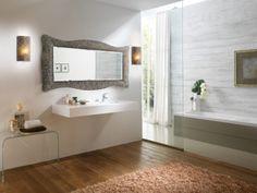 Zrcadlo Sand BRONZE 168x73 Corner Bathtub, Alcove, Mirrors, Bronze, Bathroom, Washroom, Full Bath, Bath, Mirror