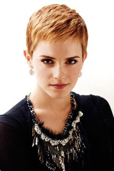 Emma Watson pixie cut- Megan is getting this on Monday!!! She is really exited.