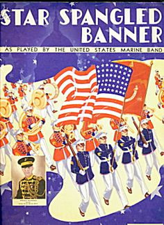 1942 Star Spangled Banner Patriotic Sheet Music. Click the image for more information.