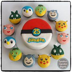 Torta y Cupcakes Pokemon - Cake