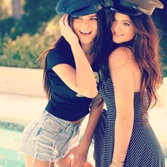 Kendall and Kylie Jenner! These two have such great style and a great relationship                                                                                                                                                                                 More