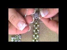 DIY Tutorial: Bracelets / DIY Montee Embellished Pearl Bracelet - Bead&Cord