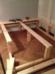 diy betten mit stauraum hohes bett mit stauraum selber bauen pin bett selber bauen mit. Black Bedroom Furniture Sets. Home Design Ideas