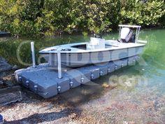 Boat lift, PWC lift - Boat & PWC lifts  Candock