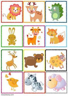 Znaczki przedszkolne – Zwierzęta Animal Activities For Kids, Preschool Printables, Child Safety, Drawing For Kids, Animal Pictures, Crafts For Kids, Clip Art, Drawings, Children