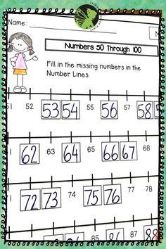 Kindergarten Math Homework. Math Spiral Review. Math Morning work for kindergarteners. Math Bell work. Kindergarten Math Activities, Counting Activities, Teaching Math, Anchor Charts, Second Grade, Homework, Math Equations, 2nd Grades