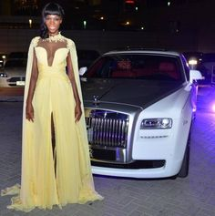 Luxury Jean Fares Couture and Rolls Royce Cars in Dubai, a breeze in the air!
