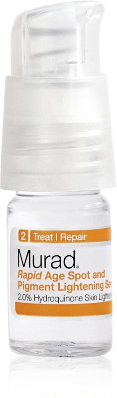 Murad's Rapid Age Spot And Pigment Lightening Serum Is A Fast-Acting Dark Spot Treatment Serum That Fades Dark Spots, Age Spots, And Freckles. Now in travel size.