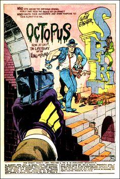 The (Harvey) Spirit Splash Page by Will Eisner