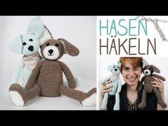 Video Häkelanleitung Hase DIY Kuscheltier selbermachen - Hase häkeln für Anfänger - super Geschenk zu Ostern - alive4fashion - YouTube
