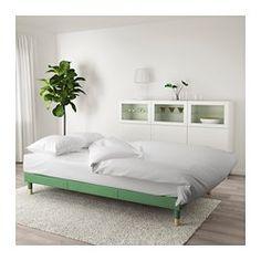 FLOTTEBO Slaapbank, Lysed groen - 120 cm - IKEA